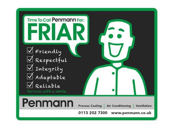 Penmann friar logo