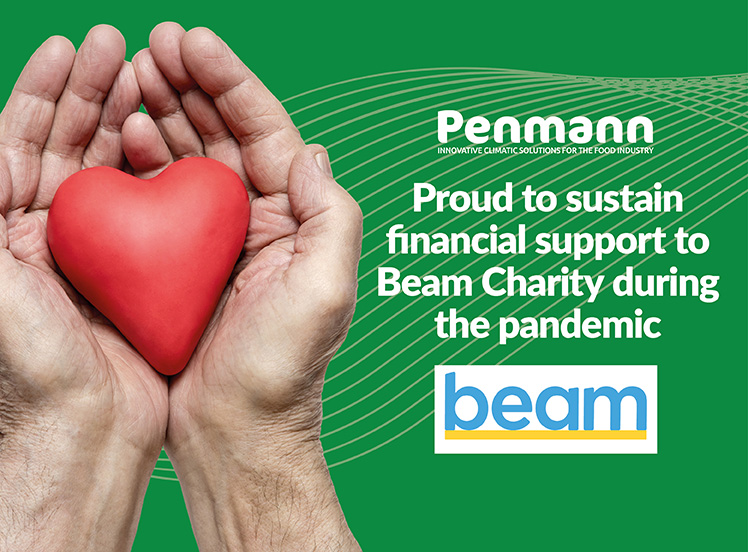 Penmann supporting beam charity