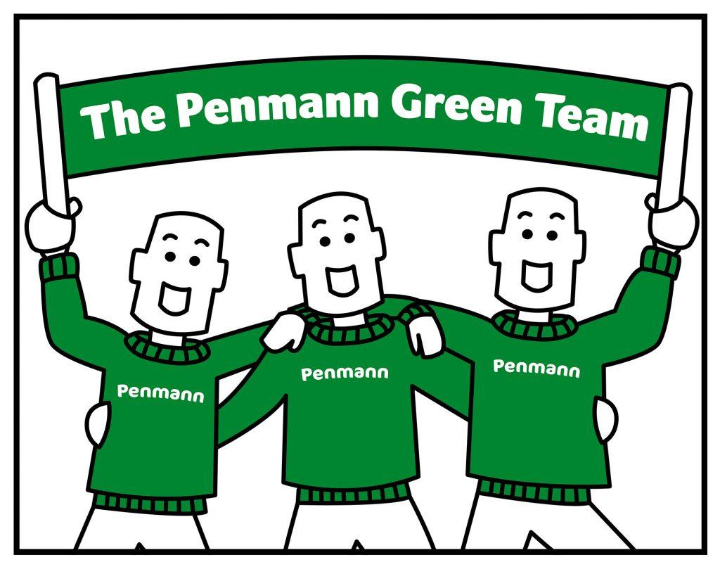 Penmann - Green team