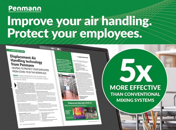 Penmann - Displacement Air Handling solutions protect employees in the workplace