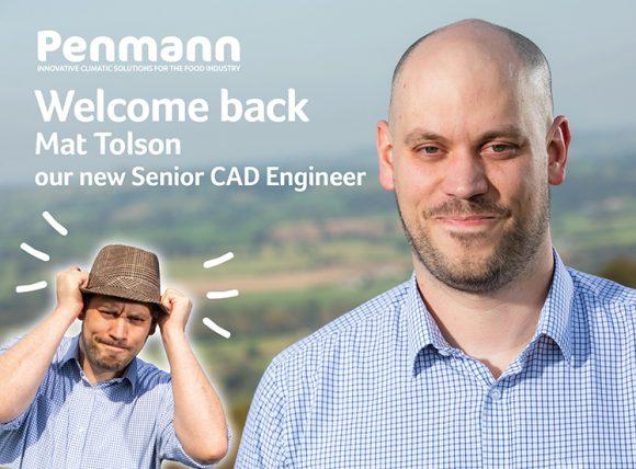 Penmann - introducing Mat Tolson as Senior Cad Engineer