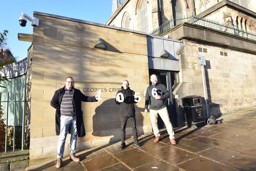 Penmann - St. George's Crypt donation