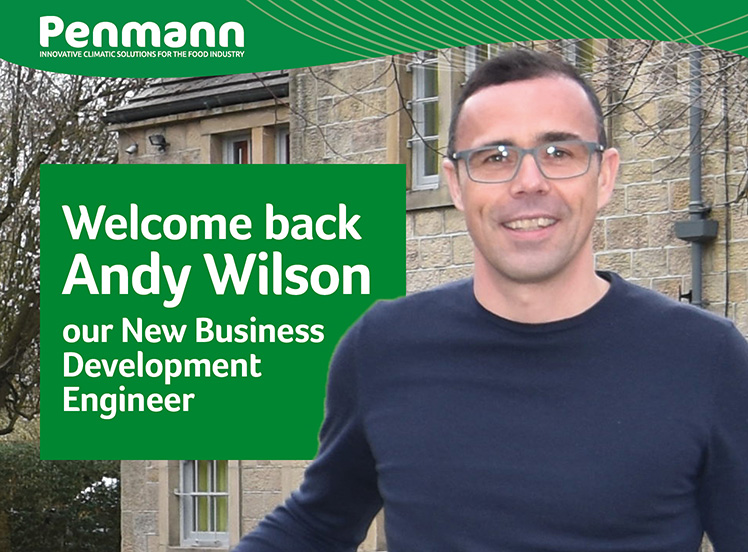 Penmann - Andy Wilson joins the team at Penmann as New Business Development Engineer