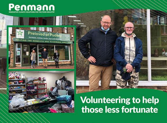 Penmann - supporting St. George's Crypt charity shop Preloved in Pudsey