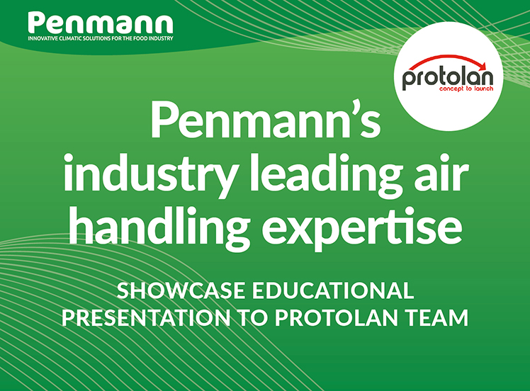Penmann - air handling presentation to team at Protolan