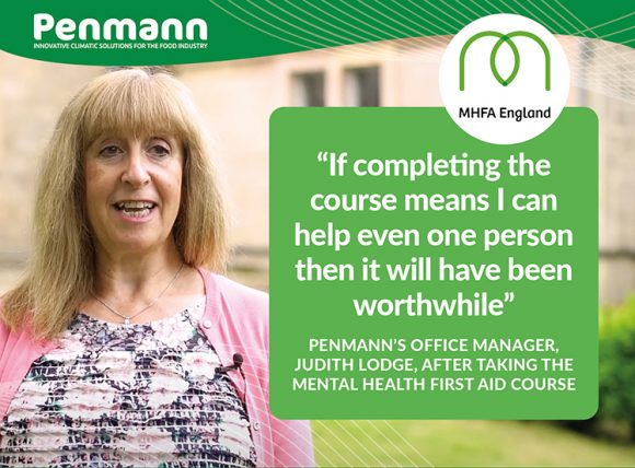 Penmann - Judith Lodge Mental Health First Aid training course
