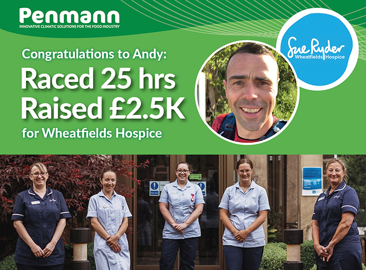 Penmann - andy Running Man raced 25 hours and raised £2.5K