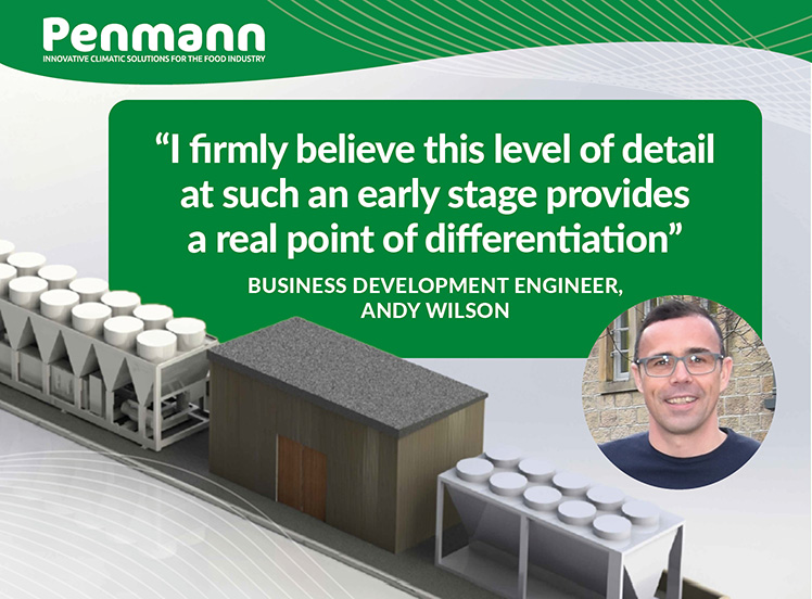 Penmann - 3D Visualisation from in-house Drawing Office