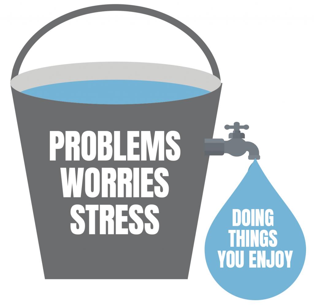 Penmann - Mental Health First Aid stress bucket